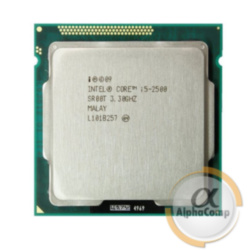 Процессор Intel Core i5 2500 (4×3.30GHz/6Mb/s1155) б/у