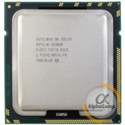 Процессор Intel Xeon X5570 (4×2.93GHz/8Mb/s1366) б/у