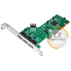 Контроллер Nonatec PCI - USB2.0  (3+1 port, Nec)