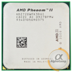 Процессор AMD Phenom II X3 720 (3×2.80GHz/6Mb/AM3) б/у