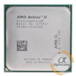 Процессор AMD Athlon II X4 640 (4×3.00GHz/2Mb/AM3) б/у
