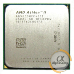 Процессор AMD Athlon II X4 630 (4×2.80GHz/2Mb/AM3) б/у