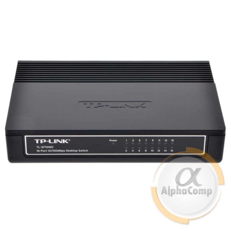 Коммутатор 16 port TP-Link TL-SF1016D (10/100)