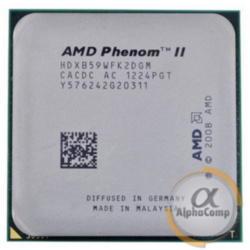 Процессор AMD Phenom II X2 565 B59 (2×3.40GHz/1Mb/AM3) б/у