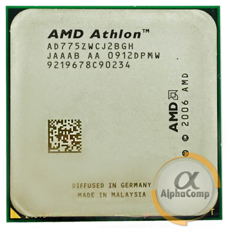Процессор AMD Athlon X2 7750 (2×2.70GHz/1+2Mb/AM2+) БУ