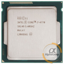 Процессор Intel Core i7 4770 (4×3.40GHz/6Mb/s1150) БУ